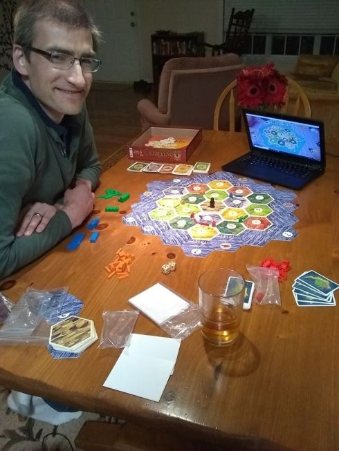 Playing boardgames over Skype
